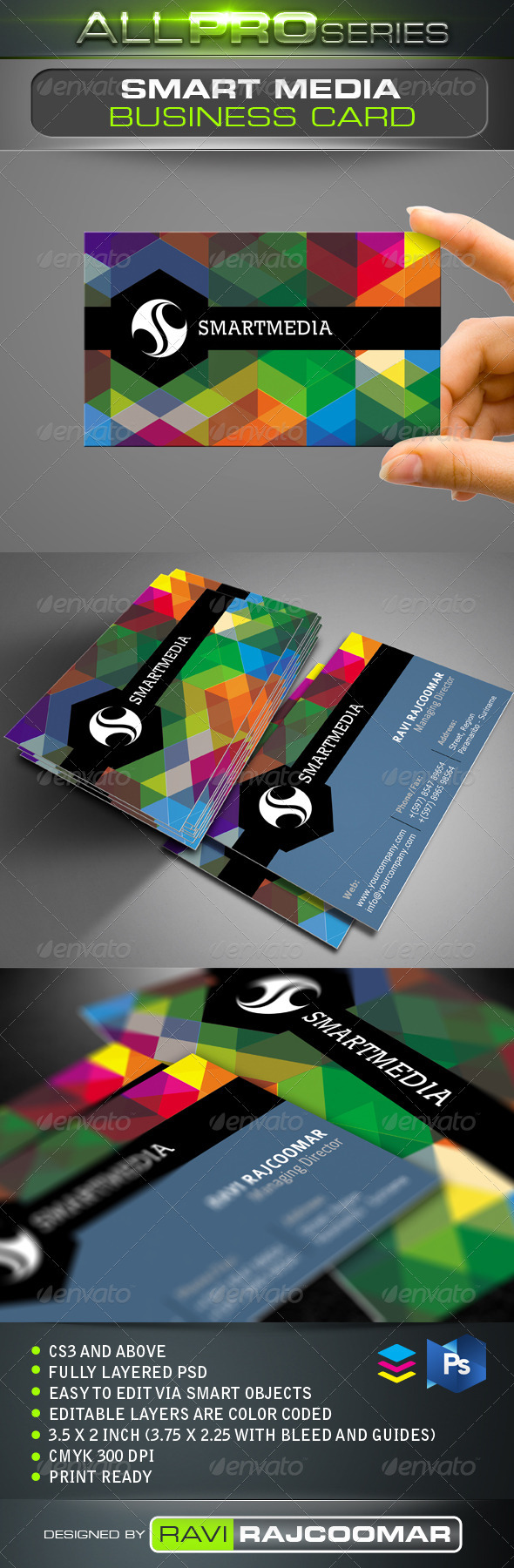 Smart Media Business Card - Creative Business Cards