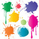 Set of Color Stains - GraphicRiver Item for Sale