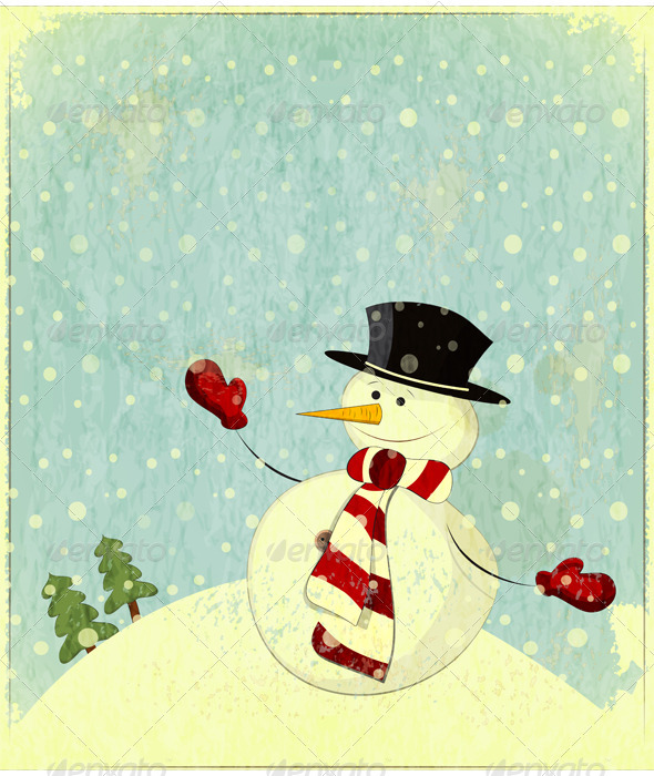 Snowman - Christmas Seasons/Holidays