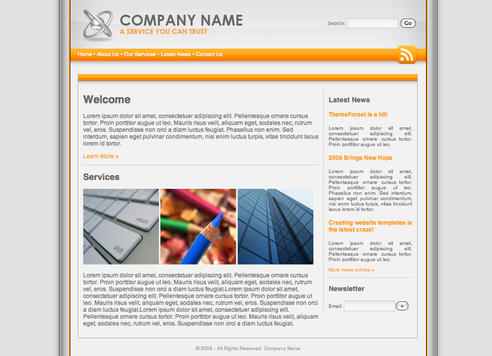 Free Download Platinum Orange Professional Template Nulled Latest Version