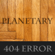 Planetary - Premium Error Page Template - ThemeForest Item for Sale