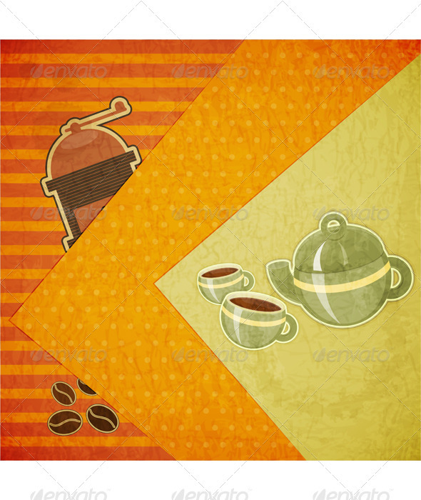 Coffee Menu - Food Objects