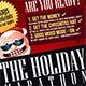 Christmas Holiday Marathon Flyer Template - GraphicRiver Item for Sale