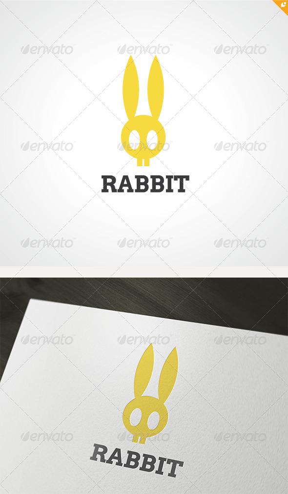 Rabbit Logo - Animals Logo Templates