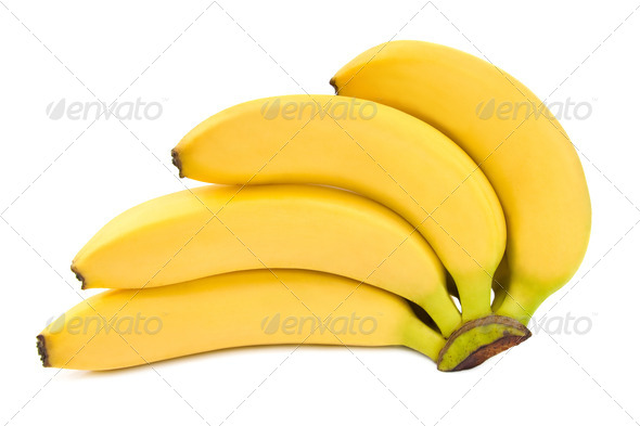 Bunch of bananas. - Stock Photo - Images