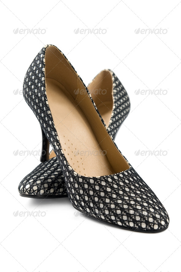 Stylish women's shoes - Stock Photo - Images