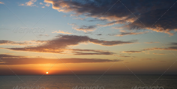 Seascape. - Stock Photo - Images