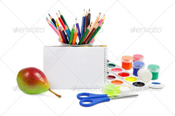School Accessories - Stock Photo - Images