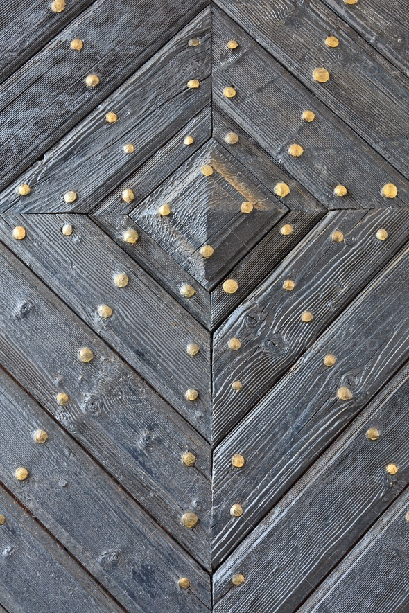 old wooden door - Stock Photo - Images