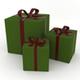 Christmas Present Box Set - GraphicRiver Item for Sale