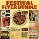 Festival & Concert Flyers Bundle - GraphicRiver Item for Sale