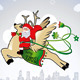 Santa Claus Bring Lots of Wealth & Happiness - GraphicRiver Item for Sale