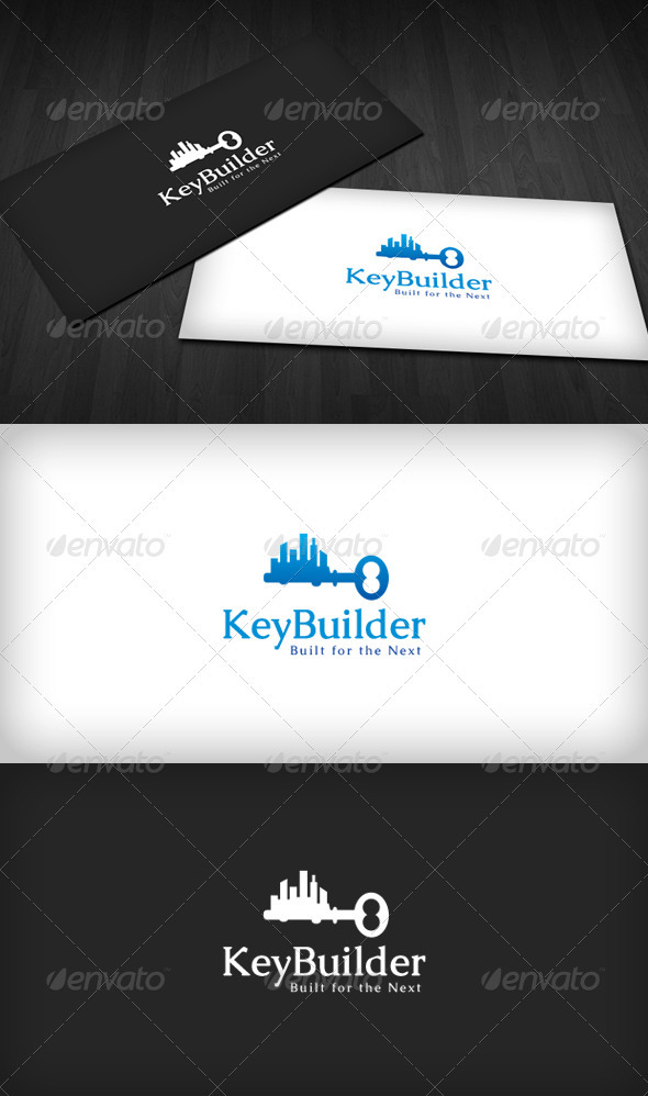 Key Builder Logo - Buildings Logo Templates