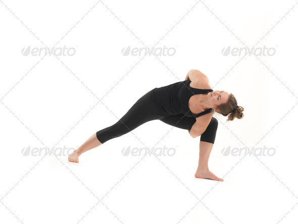 yoga practice exercise - Stock Photo - Images