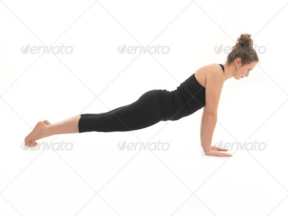yoga practice - Stock Photo - Images