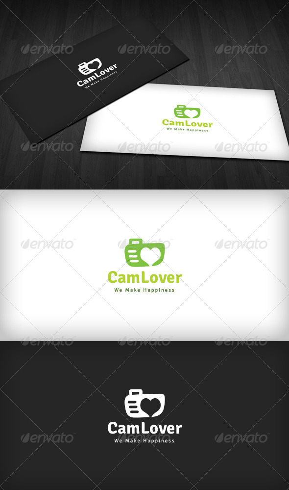 Camera Lover Logo - Objects Logo Templates