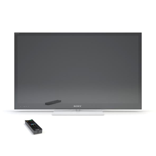 Sony Bravia KDL-55NX810   - 3DOcean Item for Sale