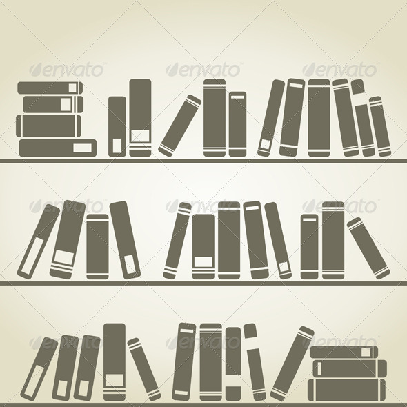 Books Stand on a Regiment. - Miscellaneous Vectors