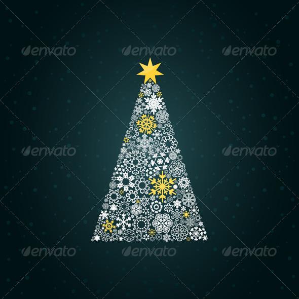 Christmas Tree 4 - Christmas Seasons/Holidays