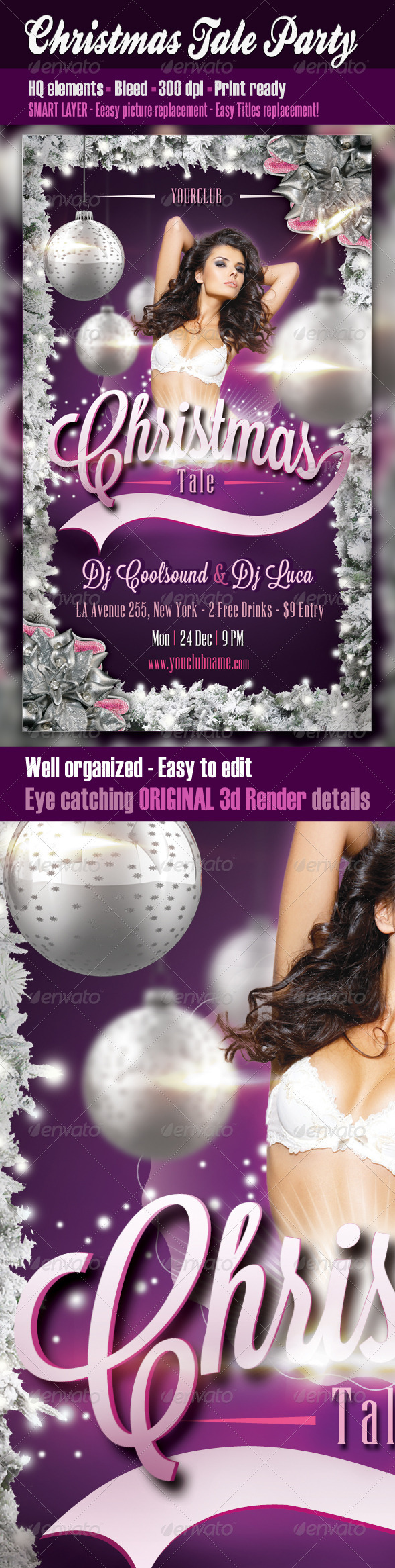 Christmas Tale Party - Clubs & Parties Events