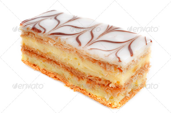 mille feuille - Stock Photo - Images