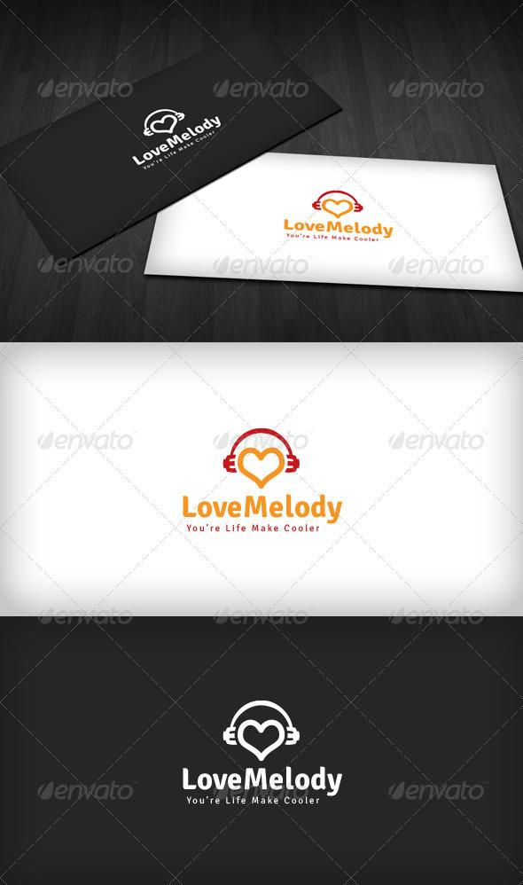 Love Melody Logo - Symbols Logo Templates