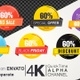 60 Percent Sales Discount Banner - VideoHive Item for Sale