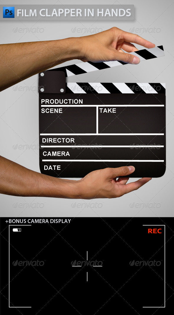 Clapper in Hands - Miscellaneous Graphics