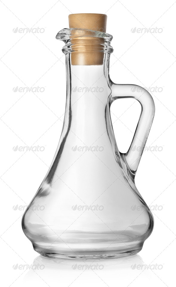 Bottle for oil - Stock Photo - Images