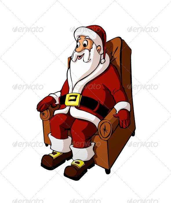 Santa Claus - Characters Vectors