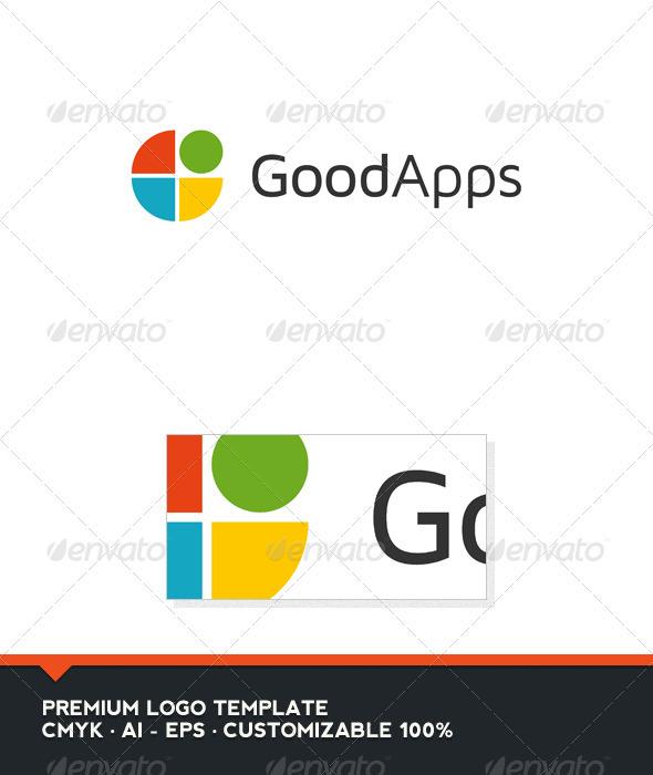 Good Apps Logo Template - Abstract Logo Templates