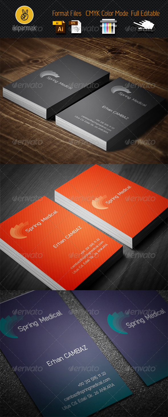 Medical Bussines Card - Industry Specific Business Cards