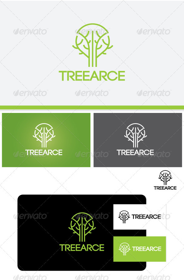Tree Arce - Nature Logo Templates