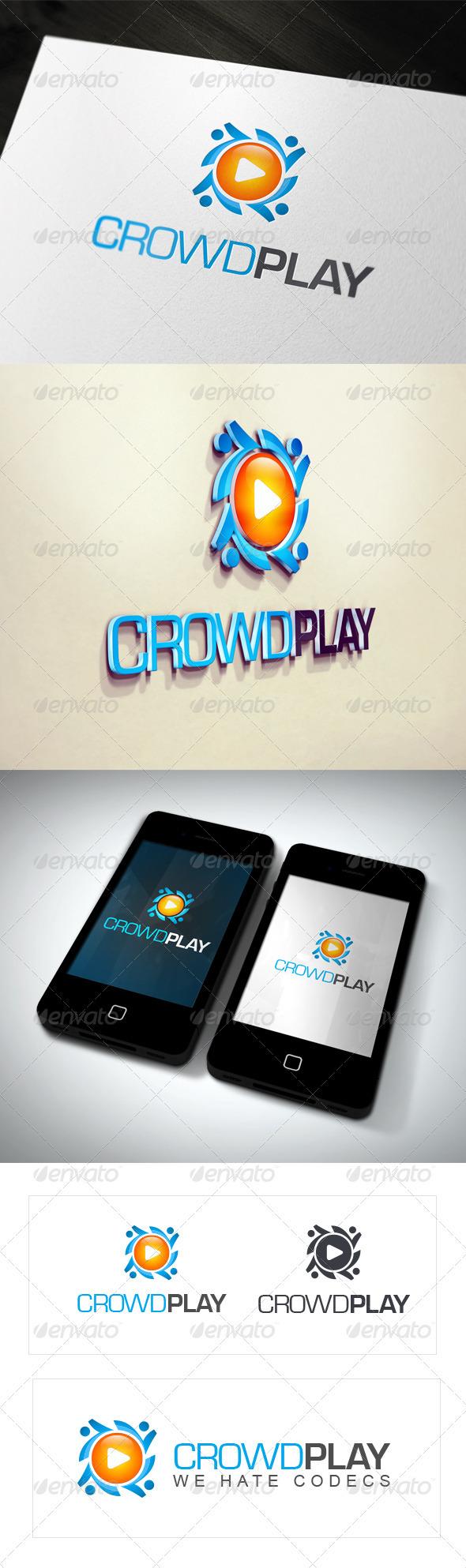CrowdPlay - Logo Templates - Symbols Logo Templates