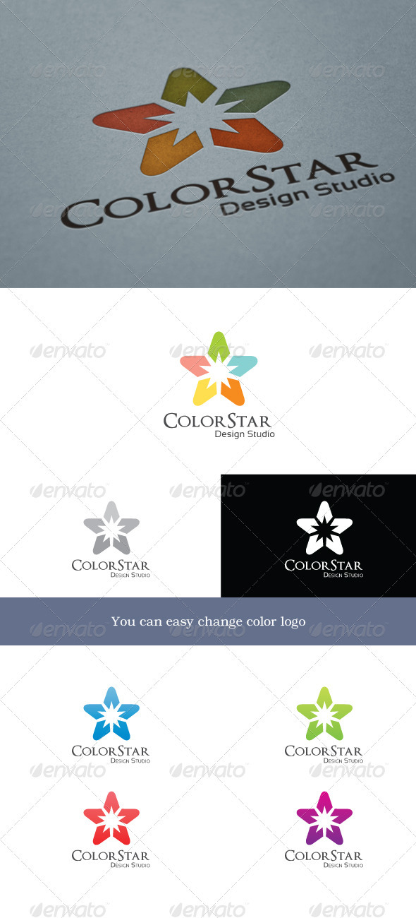 ColorStar - Objects Logo Templates
