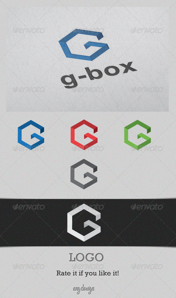 G-Box - Letters Logo Templates