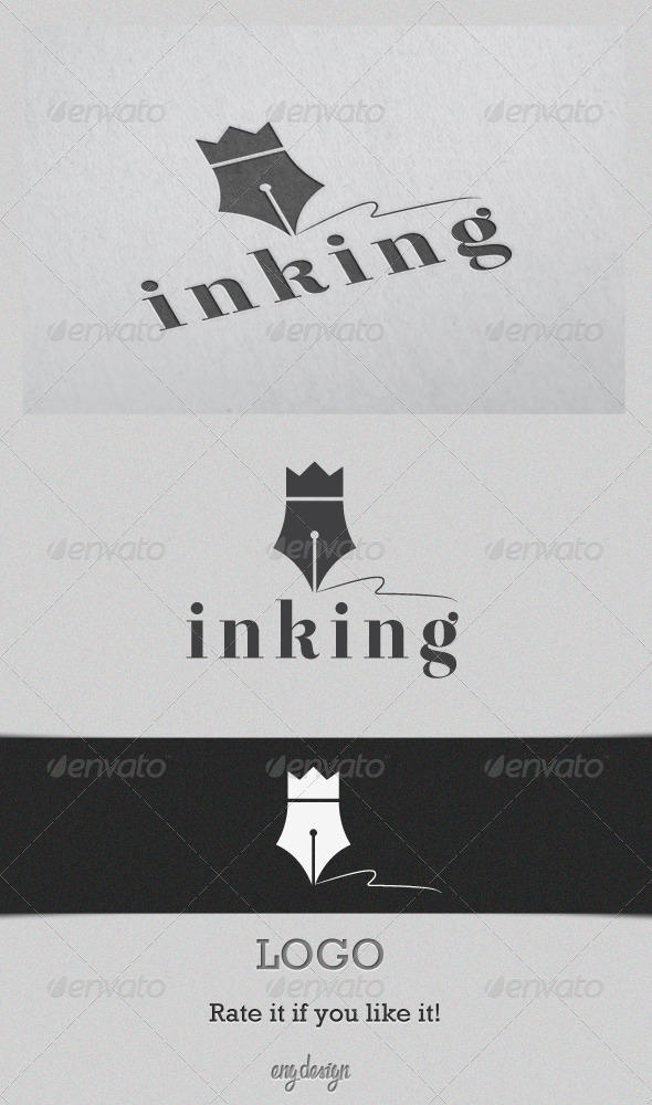 Inking - Objects Logo Templates