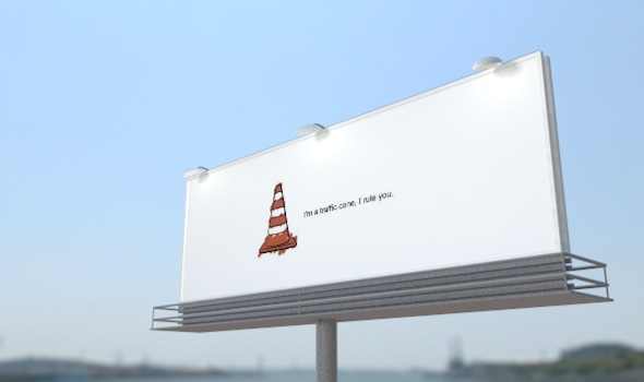 Cinema 4D billboard advertising - 3DOcean Item for Sale