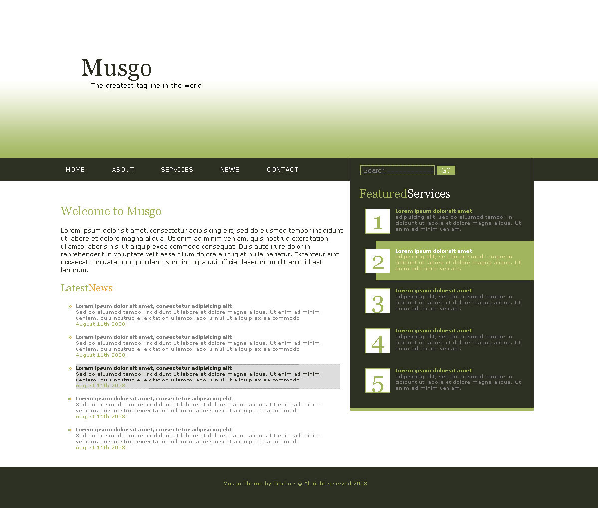 Free Download Musgo 1.0 Nulled Latest Version