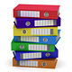 Colorful File Folders - GraphicRiver Item for Sale