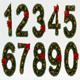 Stylized Christmas Numbers 02 - 3DOcean Item for Sale