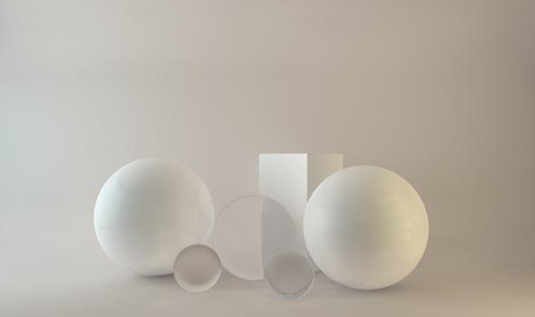 Professional clear window studio - 3DOcean Item for Sale