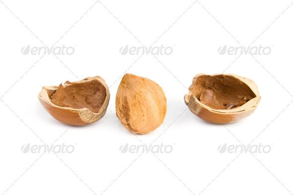 Hazelnut - Stock Photo - Images