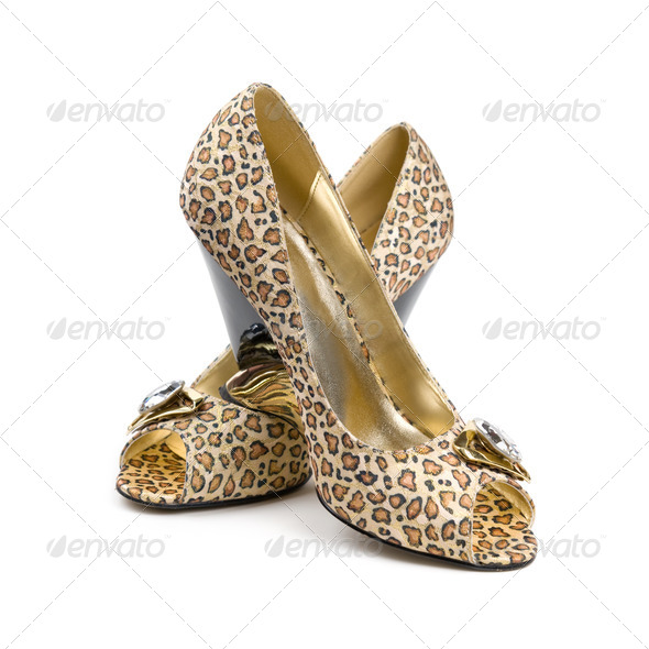 Women's shoes. - Stock Photo - Images