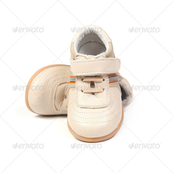 Children's shoes. - Stock Photo - Images
