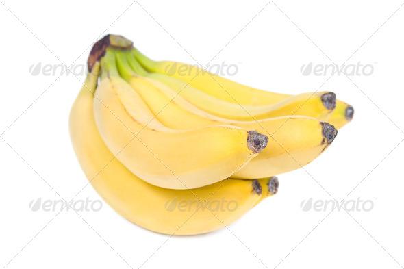 Banana bunch. - Stock Photo - Images