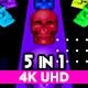 Skull Pop Glitch V.2 VJ Loops - VideoHive Item for Sale