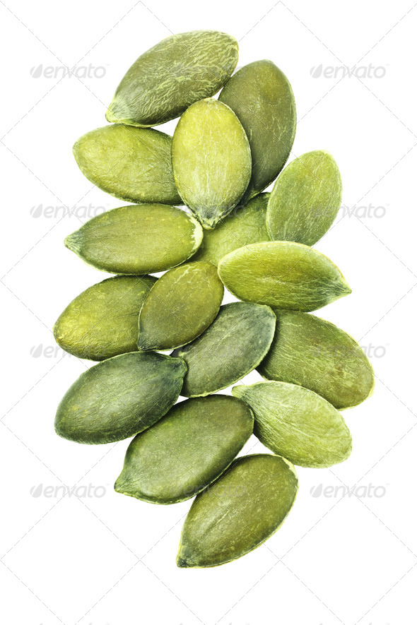 Pumpkin Seeds - Stock Photo - Images