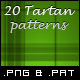 20 Tileable Tartan Background Textures & Pattern - GraphicRiver Item for Sale