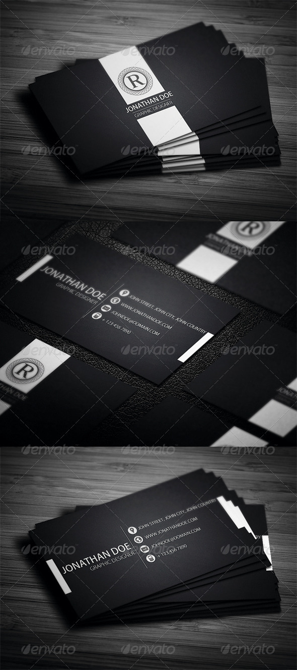Elegant Business Card - Corporate Business Cards